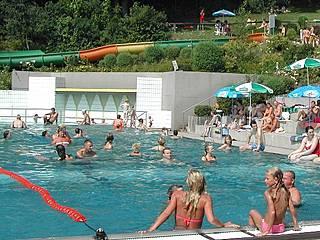 Auch das Freibad Windi gehört zum Freizeitzentrum. © Hains Freizeitzentrum