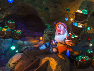 The Seven Dwarfs Mine Train © Walt Disney World