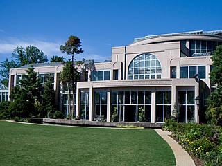 Dorothy Chapman Fuqua Conservatory im Atlanta Botanical Garden. © veggiefrog