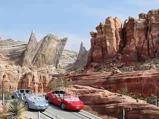 Disney California Adventure Park, Radiator Springs Racers © insidethemagic