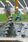 © Bubenheimer Spieleland - Auf dem neuen Wasserspielplatz